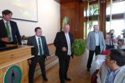 Vzácná návštěva v CHI - ministr zemědělství Ing. Miroslav Toman, CSc.