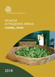 """MZe vydalo """"Situační a výhledovou zprávu CHMEL, PIVO 2018"""""""