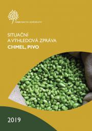 """MZe vydalo """"Situační a výhledovou zprávu CHMEL, PIVO 2019"""""""