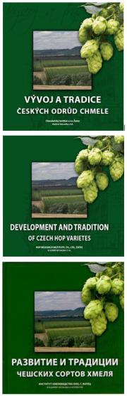 "The book ""Development and tradition of Czech Hop Varieties"" in English and Russian"